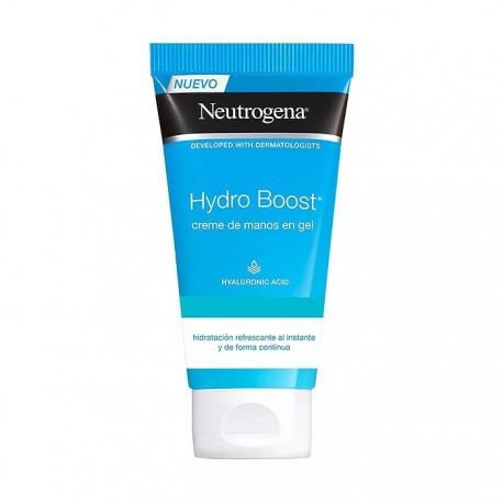 Neutrogena® Hydro Boost crema de manos en gel tubo 75ml