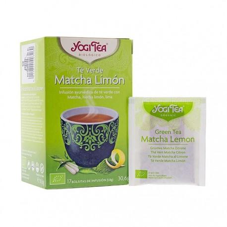 Yogi Tea Matcha Limón té verde 17 bolsitas